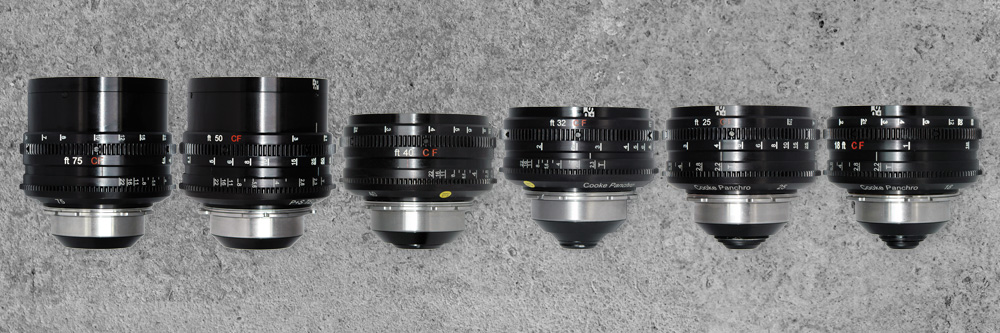 PS-Rehoused Cooke Speed Panchro lenses