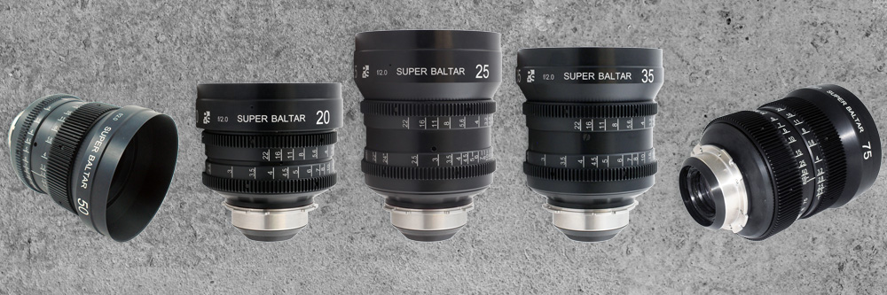PS-Rehoused Super Baltar lenses