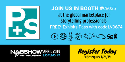 PSTECHNIK at NAB Show 2019