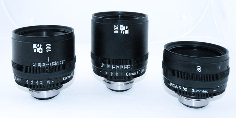 Rehousing Canon FD by P+S TECHNIK