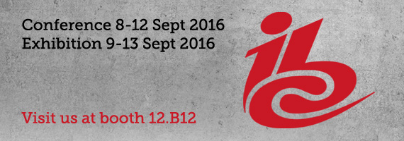 P+S Technik IBC 2016, booth 12.B12