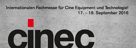 P+S Technik at Cinec 2016 booth 3-A63