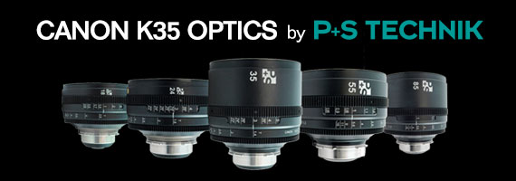 CanonK35 Optics by P+S Technik rehoused