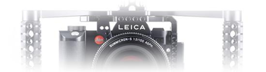 The Leica SL with the MetalJacket and the BoomBooster.