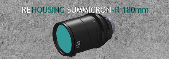 P+S Technik now offers the rehousing of Leica-Summicron-R 180mm